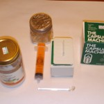 cannabis capsule making supplies